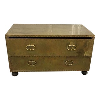 Gold 2-Drawer Trunk