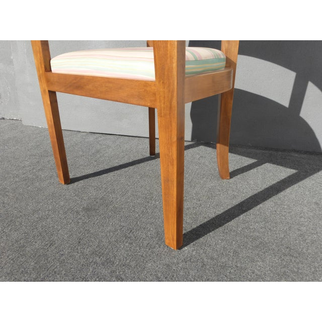 Image of Mid-Century Danish Modern Leather Arm Chairs - 4