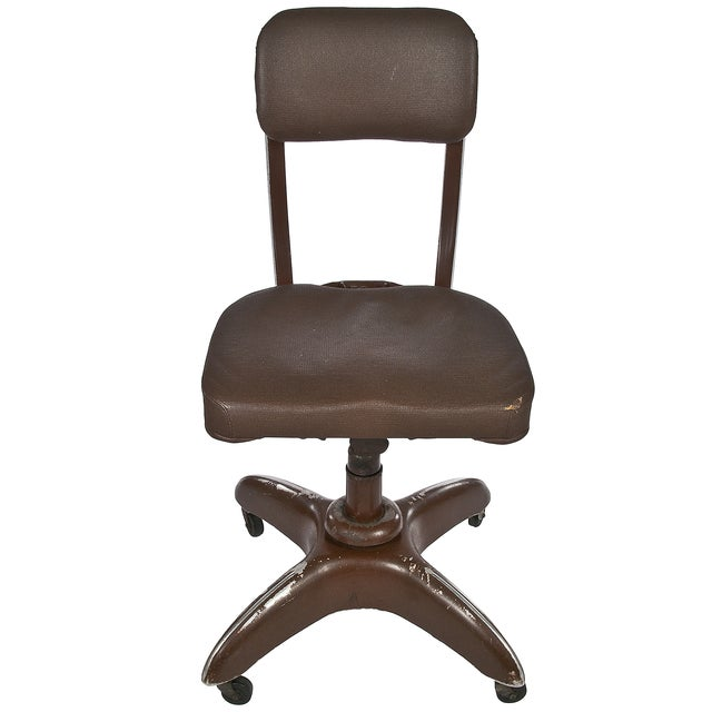 Vintage Goodform Stenographer's Office Chair - Image 1 of 4