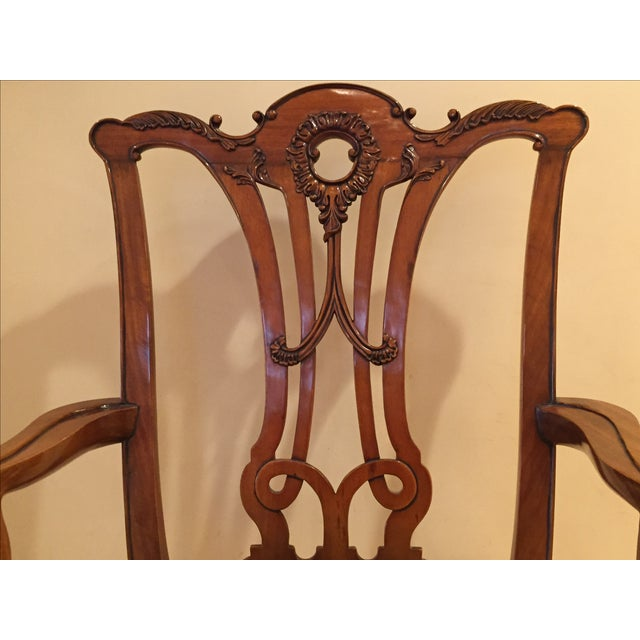 Chippendale Side Armchairs- A Pair - Image 3 of 7
