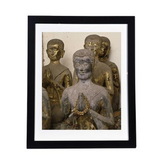 Framed Original Photograph: Namaste