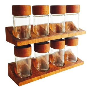 Digsmed Danish Modern Teak Spice Rack