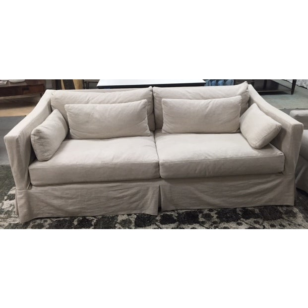 "Cisco Brothers 84"" Rebecca Deluxe Sofa - Image 2 of 6"