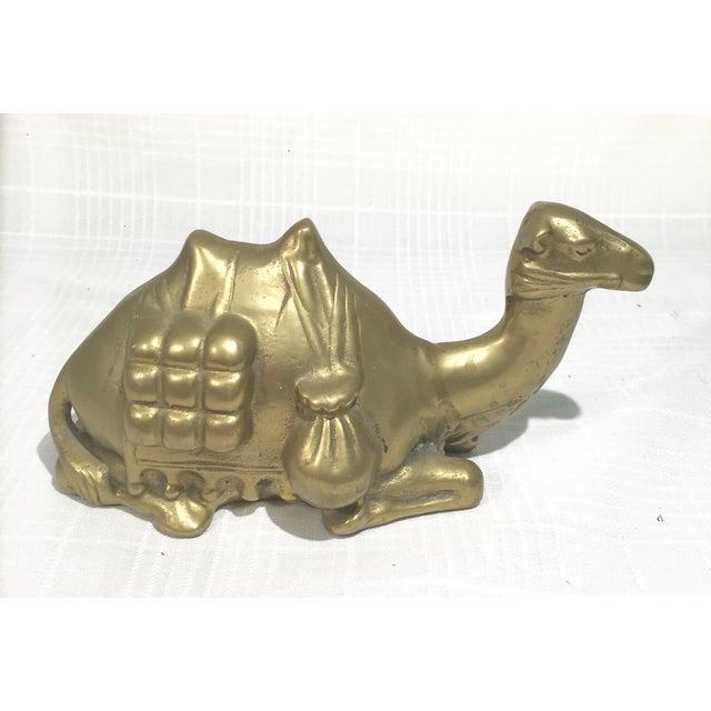Image of Vintage Brass Camel