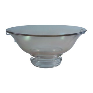 Grecian Glass Fruit Bowl