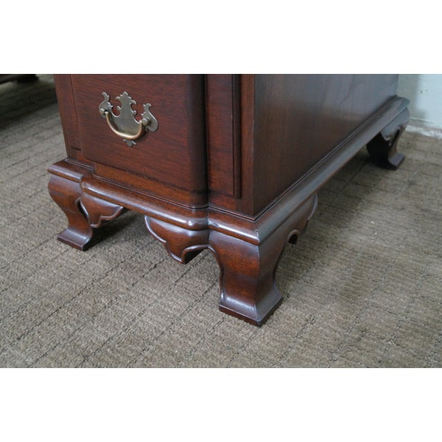 Vintage Mahogany Chippendale Style Writing Desk - Image 7 of 10