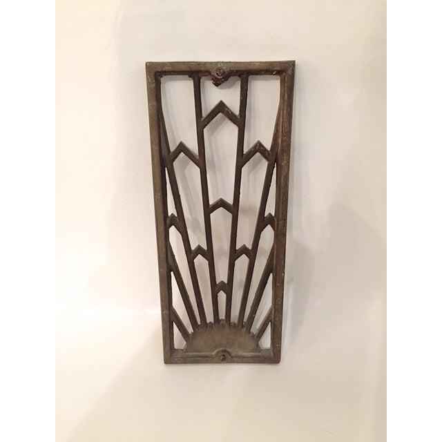 Image of Vintage Art Deco Grates - Set of 4