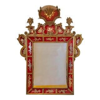 Italian Eglomise Mirror