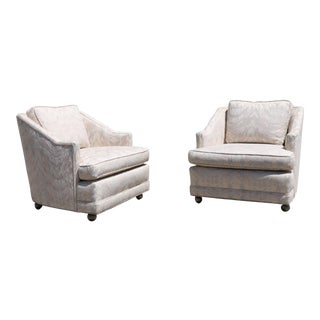 Vintage Lounge Chairs - A Pair