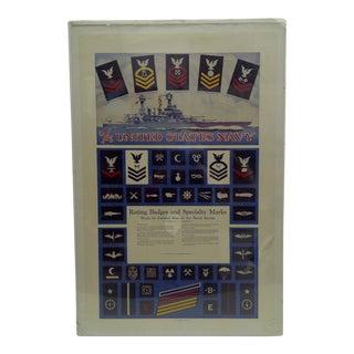C. 1930 U.S. Navy Recruiting Poster