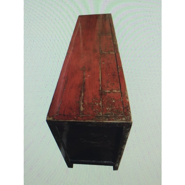 Antique Lacquered Chinese Sideboard - Image 3 of 10