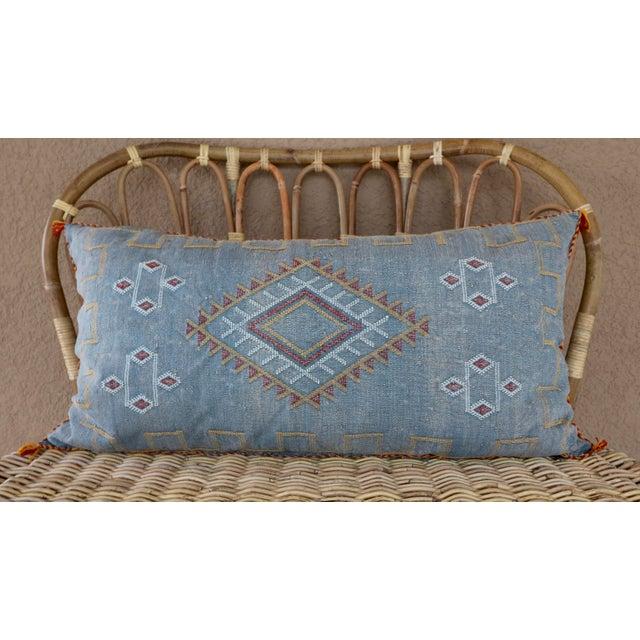 Moroccan Sabra Cactus Lumbar Cushion - Image 2 of 6