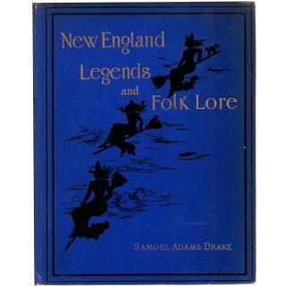 New England Legends & Folk Lore Book