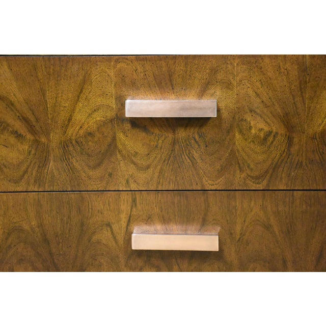Lane Brutalist Console Credenza - Image 3 of 10