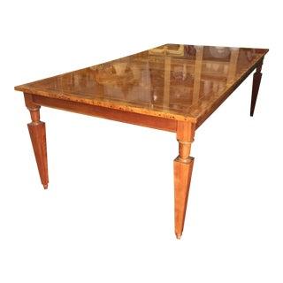 Vintage Baker Walnut Dining Table