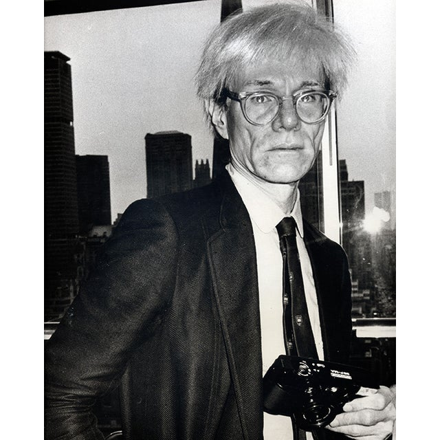 Image of Fernando Natalici Original Andy Warhol Photograph