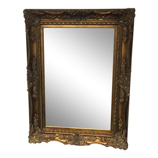 Antique Gold Finish Wall Mirror
