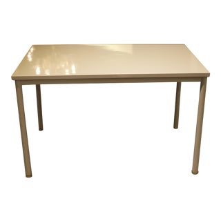 Steel and wood desk/table by Le Corbusier and Charles Jeanerette