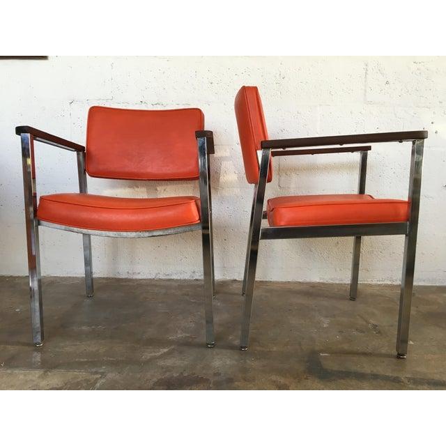 S Vintage Haskell MidCentury Modern Office Chairs A Pair - Mid century modern office chair