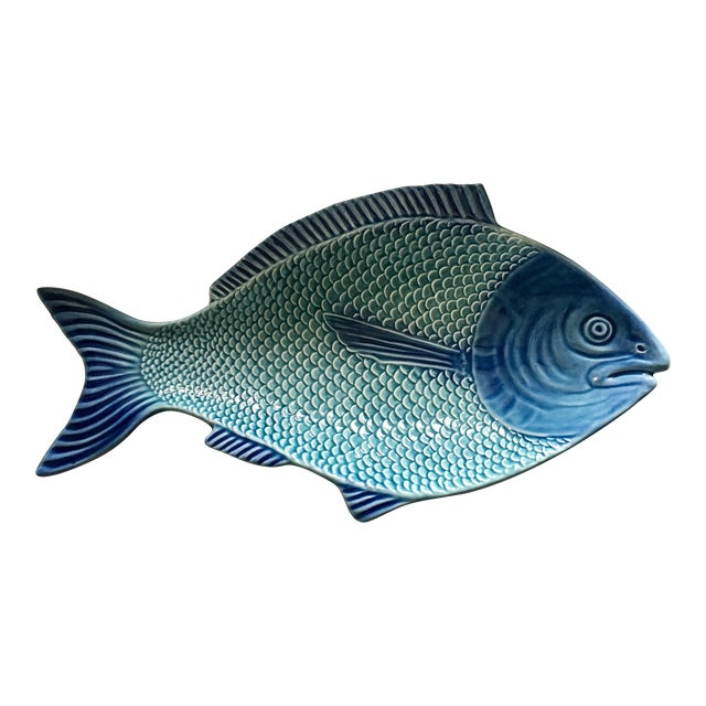 Portuguese Fish Shaped Platter - Image 1 of 7