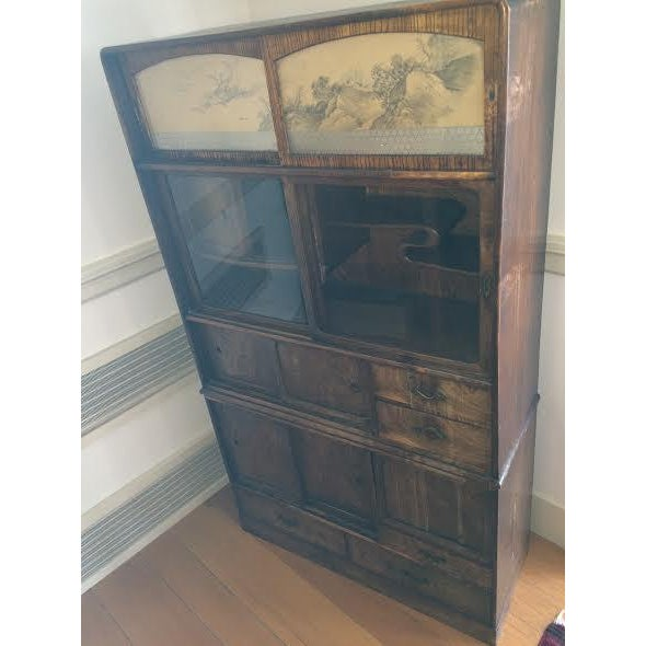 Image of Antique Japanese Cabinet