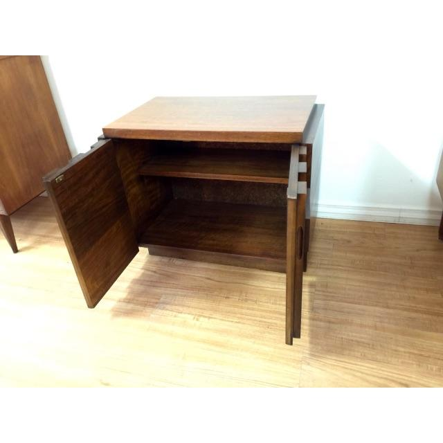 Brutalist End Tables by Lane - Pair - Image 6 of 6