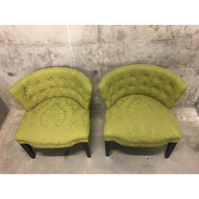 HD Buttercup Slipper Chairs - A Pair - Image 5 of 6