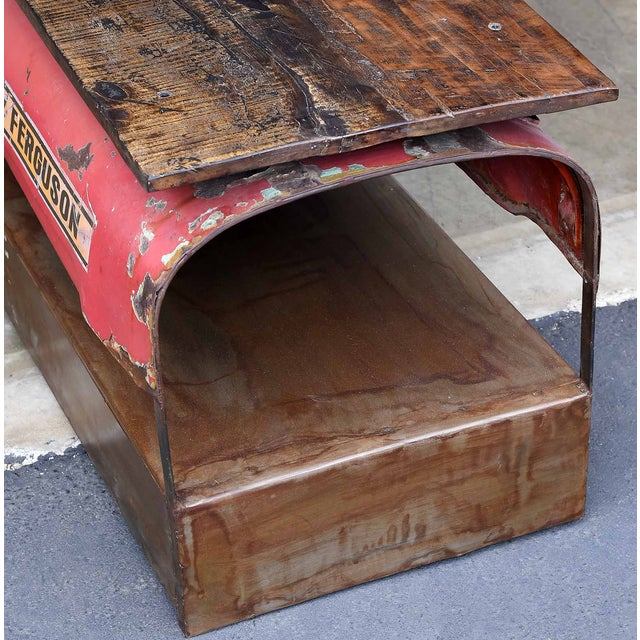Image of Vintage Tractor Coffee Table