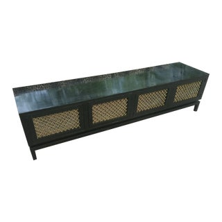 Hollywood Regency Chinoiserie Style Credenza