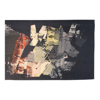 "Large Tapestry by Mathieu Matégot ""Fiction"""