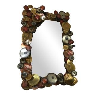 C. Jere Raindrop Disc Mirror