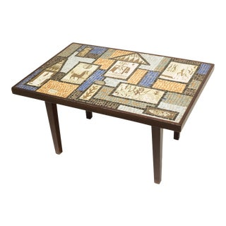 David Holleman Ceramic Mosaic Table