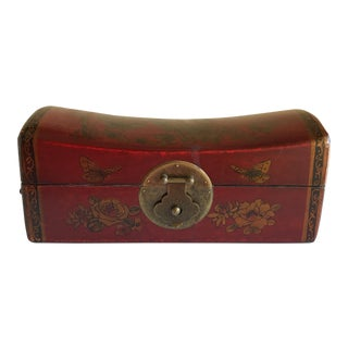 Asian Chinoiserie Decor Storage Box