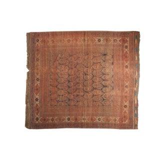 "Antique Persian Afshar Carpet - 7'2"" x 8'2"""