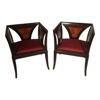 Art Deco Armchairs - A Pair