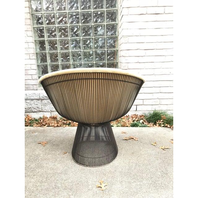 Platner for Knoll Sandstone Velvet Lounge Chair - Image 3 of 6