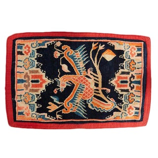 Antique Tibetan Woolen Saddle Blanket
