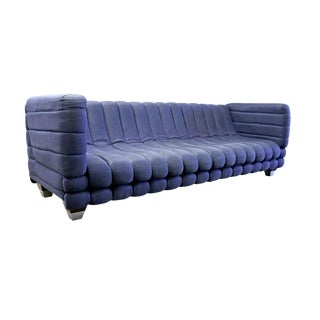 Ligne Roset Inspired Ribbed Contemporary Modern Brazilian Sofa