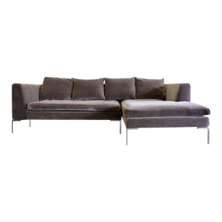 Charles Sofa by Antonio Citterio for B&b Italia in Mohair