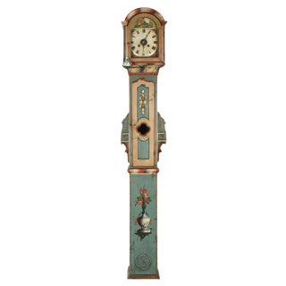 19th Century Northern European Painted Folk Art Clock