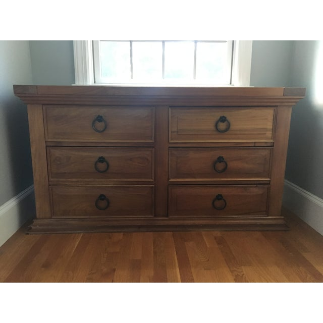 6-Drawer Mahogany Chest - Image 2 of 3