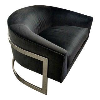 Vintage Milo Baughman Chairs - Pair