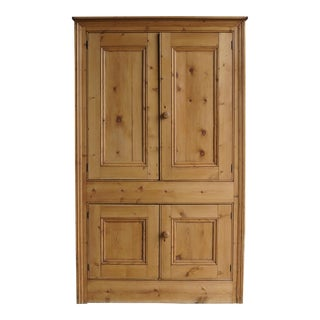 Antique English Pine Cupboard