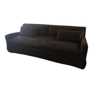 Restoration Hardware Belgian Slope Arm Sofa