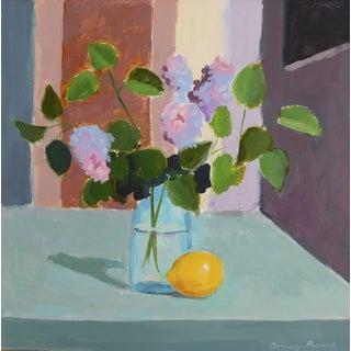 """Lilac with Lemon"" - Original Painting"