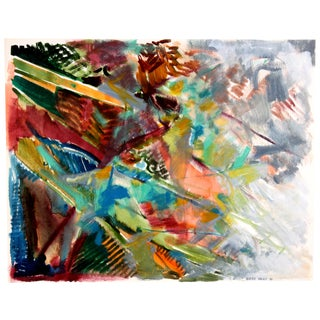 Vlasek Hails 'Impromptu Color' Painting
