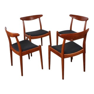 Set of Four Dining Chairs by Hans Wegner