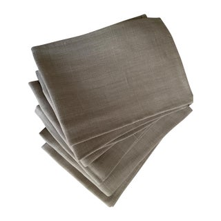 Belgian Linen Napkins - Set of 6