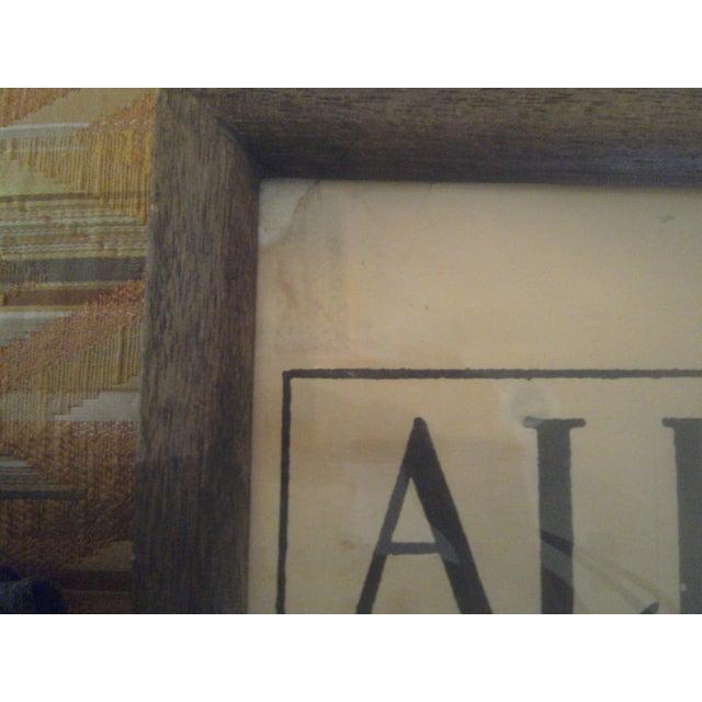 """Aubrey Beardsley """"Ali Baba"""" Print - Image 7 of 8"""