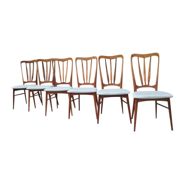 Koefoeds Hornslet Ingrid Dining Chairs - Set of 6 - Image 1 of 7